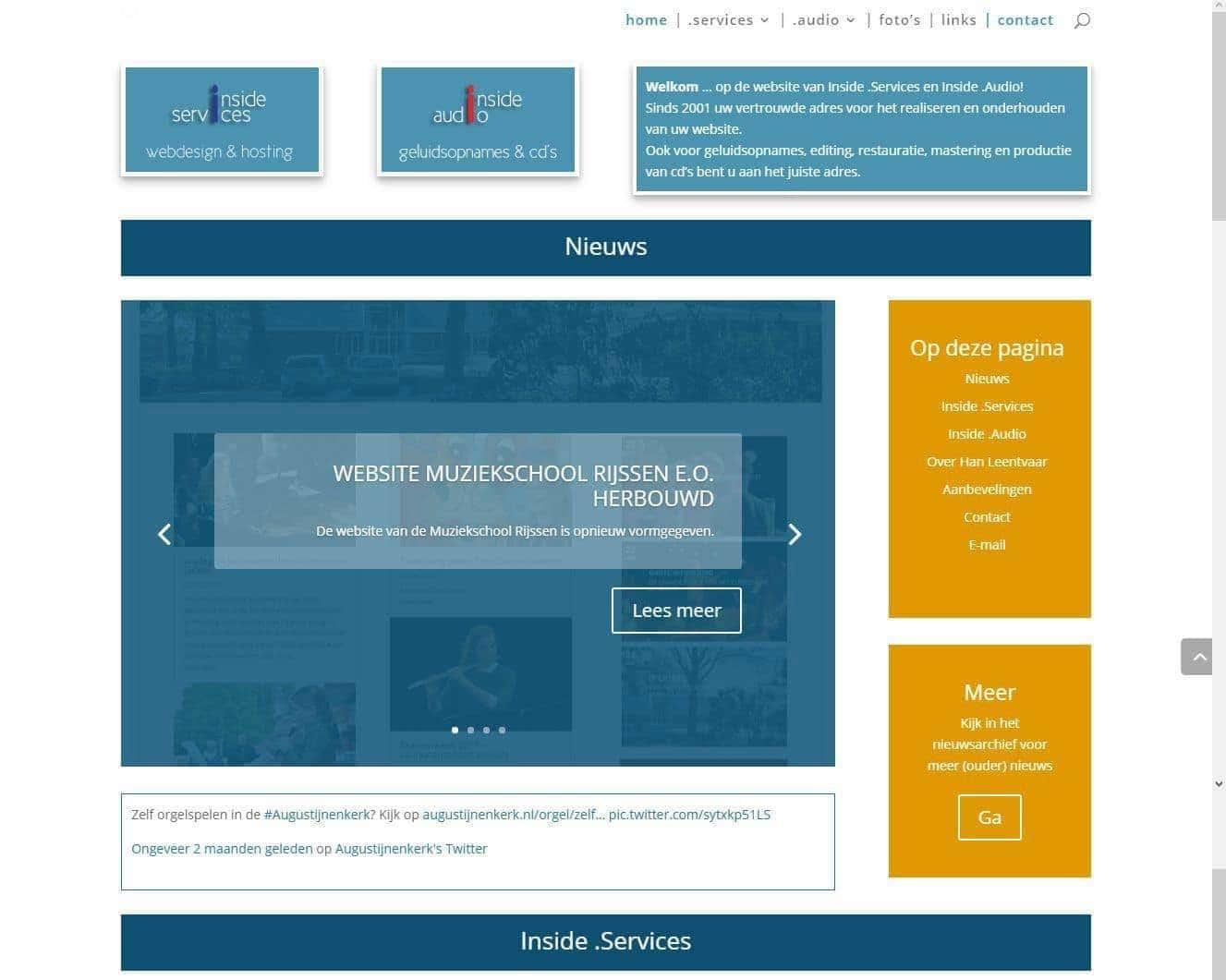 Afbeelding Website Inside .Services