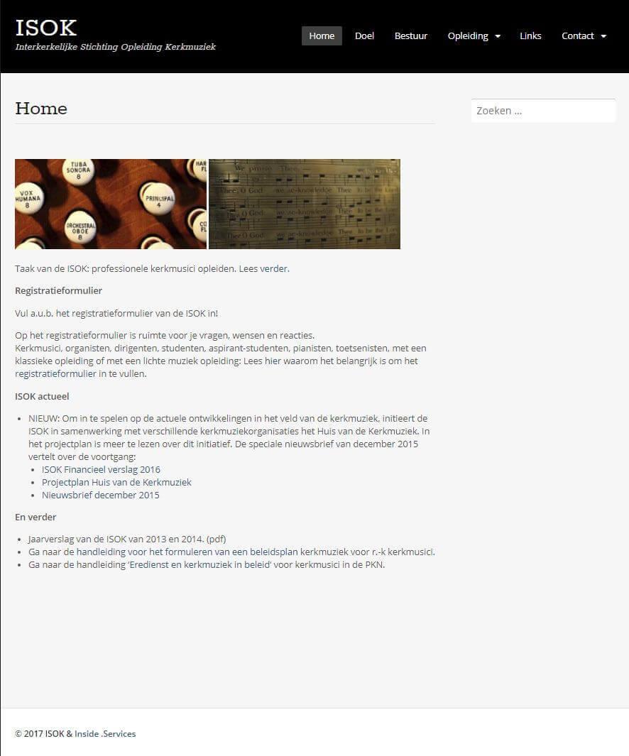 Afbeelding Website ISOK