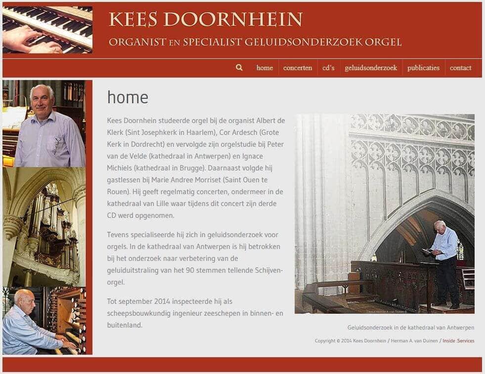 Afbeelding Website Kees Doornhein