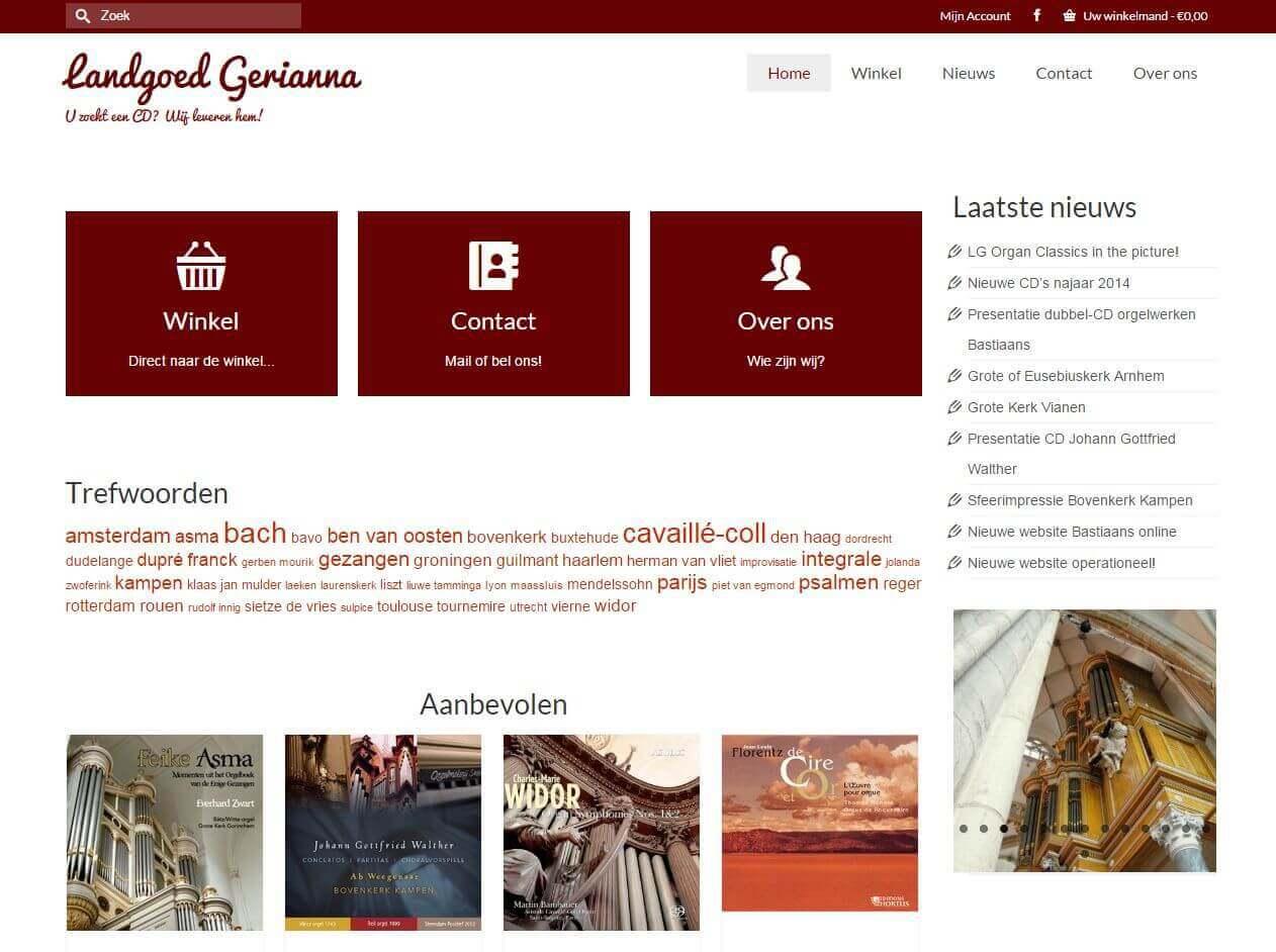 Afbeelding Website Landgoed Gerianna