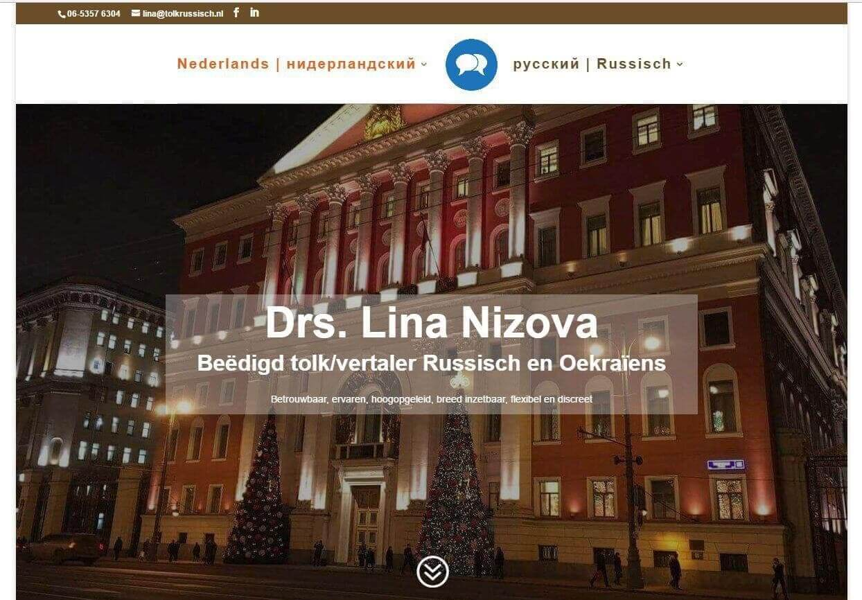 Afbeelding Website Tolk Russisch