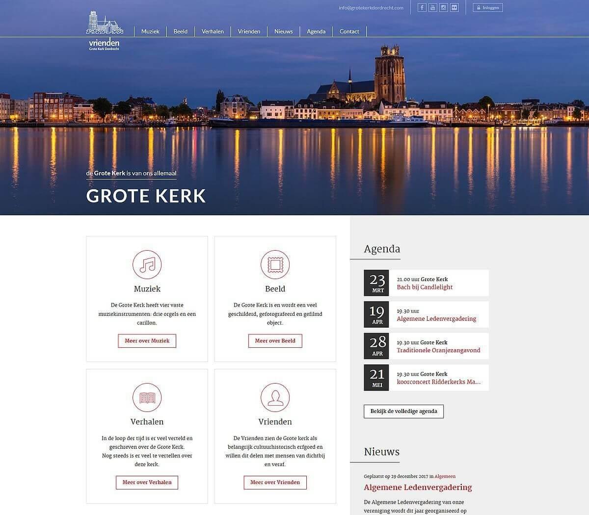 Afbeelding Grote Kerk Dordrecht Nieuws