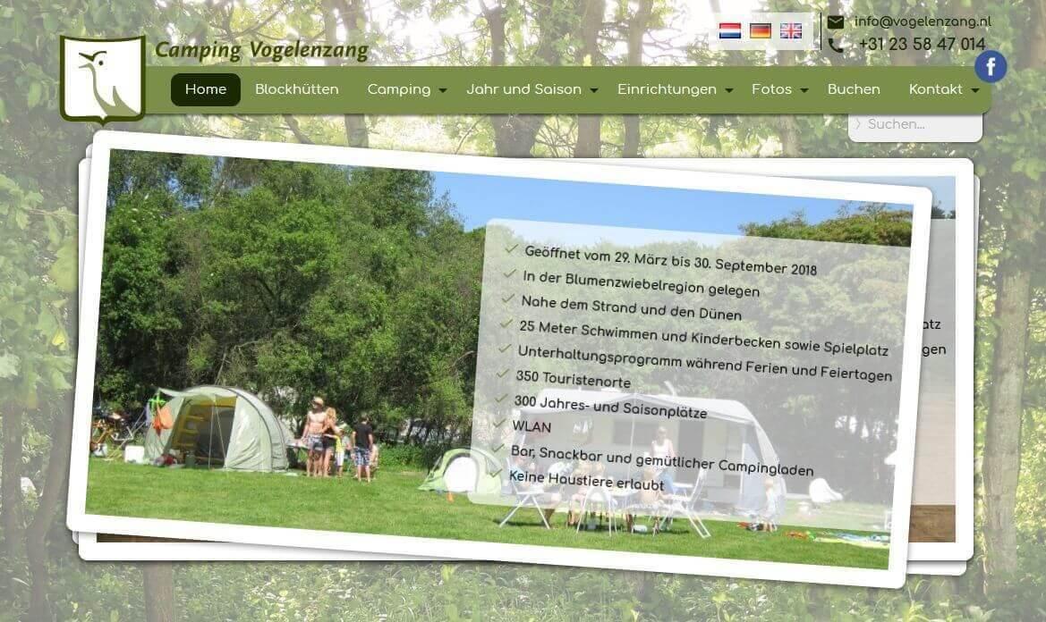 Afbeelding website Vogelenzang