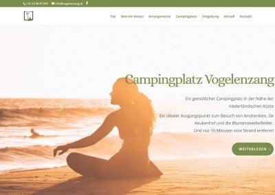 Afbeelding website Vogelenzang.de
