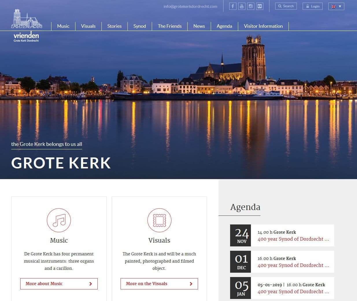 Website VVGK