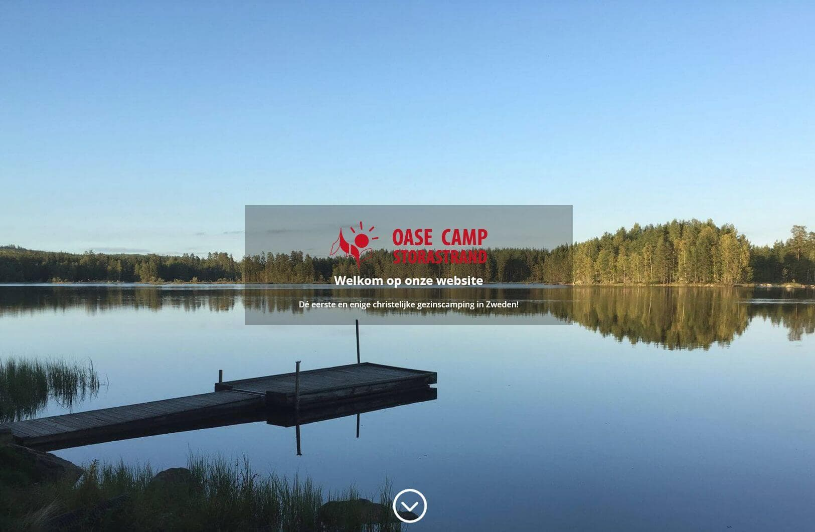 Afbeelding website Oasecamp