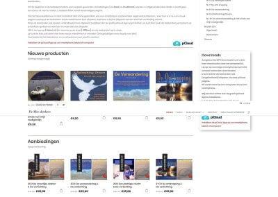 Volledige afbeelding Webwinkel De Mee-denkers