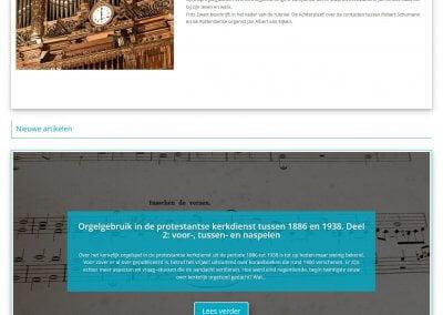 Afbeelding Homepagina het ORGEL