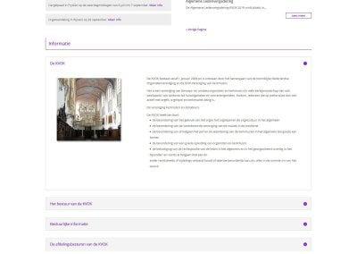 Afbeelding KVOK home-pagina