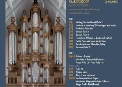 Afbeelding Inlay Caleidoscoop CD