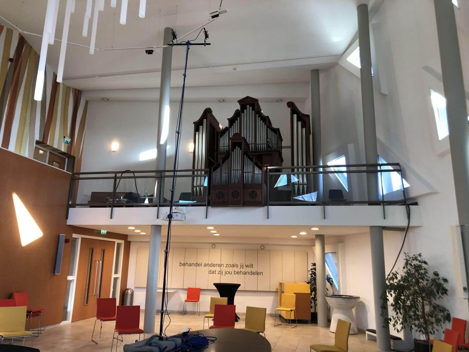 Afbeelding orgel Pauluskerk Rotterdam