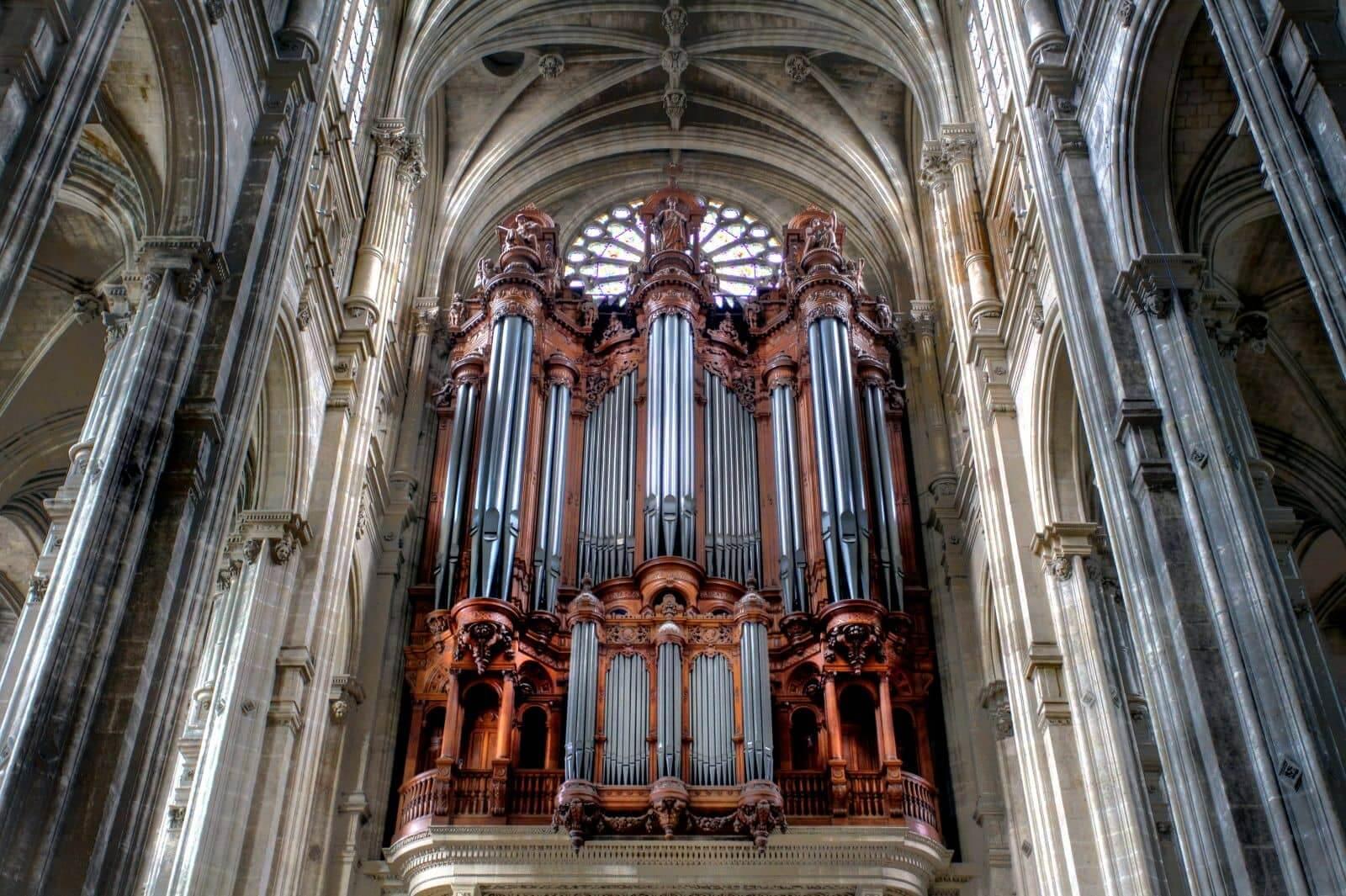 Orgel Saint-Eustache Parijs